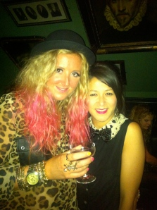 Me and the lovely Clare of Rainbows and Fairydust